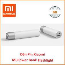Đèn pin Xiaomi Flashlight LED Lumileds, 3W và có thể sáng tối đa 240  lumens, kiêm sạc dự phòng 3350 mAh - Hàng Digiworld giảm chỉ còn 390,000 đ