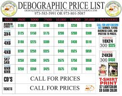 flyers ticket prices prices debographic com call 973 801 5087 for flyers posters