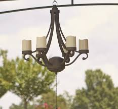 charming battery operated outdoor chandeliers for gazebos imposing