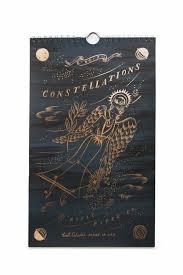 28 Paper Rifle Paper Co 2017 Constellation Calendar 28 Rose