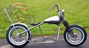 fatbob shovelhead chopper rigid bobber harley rolling chassis