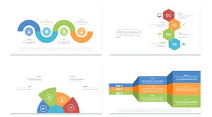 U Template Free Smartart Templates For Powerpoint 2010 Graphics Download Slide