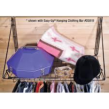 Fold Up Shelf Easy Upar Fold Up Hanging Shelf In Clothing Racks At Schneider Saddlery