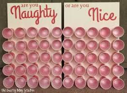 Naughty or Nice Christmas Game is perfect for a large group and everyone  will be laughing