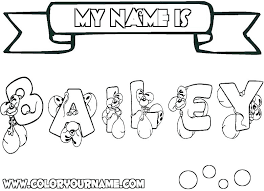 Create Coloring Page Create Your Own Coloring Pages With Your Name