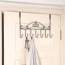 Coat And Bag Rack Over Door Bathroom Hanger Coat Clothes Hat Bag Towel Hanging Rack 62