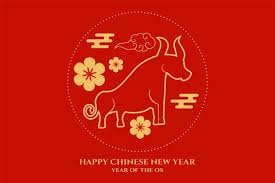 As mentioned, the next chinese new year is the year of the ox. Free Vector Greetings Of Chinese New Year Of Ox With Flowers