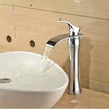 oil rubbed bronze waterfall bathroom faucet wall mounted dual handle oil rubbed bronze waterfall bathroom sink