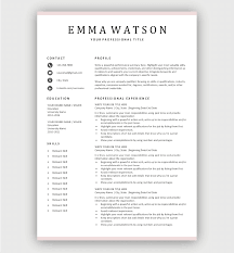 They are freely editable, useable and working for you; Free Resume Templates For Microsoft Word Download Now