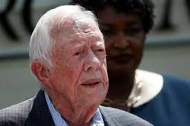 Oud-president Jimmy Carter (94) breekt ...