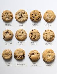 Cookie Chart Baking School With The Kitchn Week 4 Baking School No