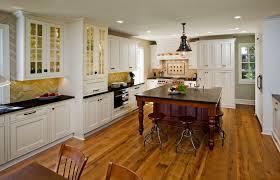 White Kitchen With Hardwood Floors White Kitchen Cabinets Dark Hardwood Floors Designing Home
