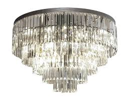 flush mount chandelier crystal chandelier flush mount flush antique black drum shade crystal semi flush mount