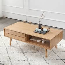 1 drawer nesting coffee end tables