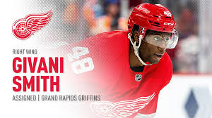 Red Wings Assign Smith To Griffins