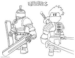 Roblox coloring pages, as well as the computer game of the same name, will give children the opportunity to fully express their imagination. Roblox Coloring Pages Coloring Home