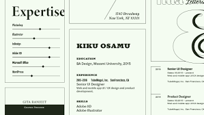 Font Of Resumes