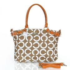 ... coach madison kelsey large camel satchels esi