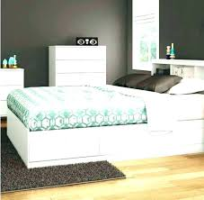 Full Size Bed Frame With Storage King Size Platform Bed Frame With ...