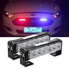 Police Car Light Bar For Sale 36w 12v Strobe Car Warning Light Truck Motorcycle Led Bar