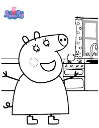 Small Picture Top 10 Peppa Pig Coloring Pages Of 2017 You Havent Seen Anywhere