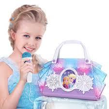 Frozen Light Up Boombox Disney Frozen Cool Tunes Sing Along Boombox On Amazon