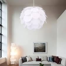 diy iq puzzle lamp light shade suspension ceiling pendant