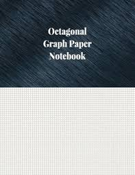 Octagonal Graph Paper Notebook 1 8 Inch Octagonal Ruled 120 Pages