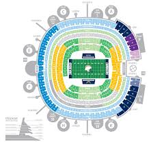 San Diego Chargers Stadium Seating Chart New Orleans Arena