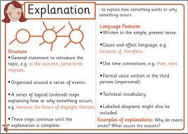 explanation writing lessons teach explanation room matai