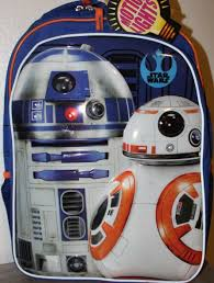 Bb8 Light Up Backpack New Star Wars R2d2 The Force Awakens Bb8 Droid Led Light Up Backpack Nwt