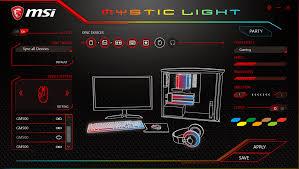 Msi Mystic Light Utility Msi Mystic Light Extension Adiklight Co
