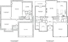single level house plans. House Plans Single Level One Story Lovely Open Floor Home Plan Farmhouse U Shaped A