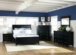 Bedroom Beach Decor Modern Themed With Navy