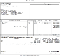 Examples Of Tax Invoices Enchanting Tax Liability On Transportation Charges In Invoice Mark IT