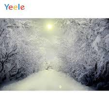 <b>Yeele</b> Winter Landscape Forest Snow <b>Trees Photozone</b> ...