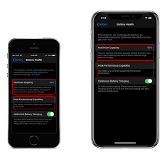 Apple explained that maximum battery capacity measures your iphone's battery capacity relative to when it was new. How To Check Your Iphone S Battery Health Techwiser