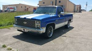 1985 Chevy C10 Silverado Swb Auto Digital Gauges W/ Newer Motor ...