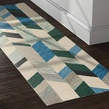 rivet modern chevron wool rug 2 6 x 8 blue green iv gray and white chevron area rug