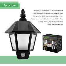solar powered motion sensor outdoor light top outdoor led lighting from outdoor lamp post solar