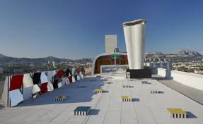 Daniel Buren Takes Over The Rooftop Of Le Corbusiers Cité Radieuse
