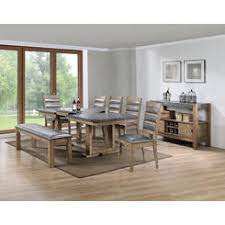classic home furniture reclaimed wood. Esofastore Classic Breakfast Kitchen 6pc Dining Set Rectangle Shape Table Top W Butterfly Leaf Grey Cushion Home Furniture Reclaimed Wood