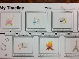 Creative Timelines For Projects Life Timeline Project My Life A Creative Timeline Activity For Kids