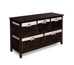 Amazing Amazon.com: Badger Basket Five Basket Storage Unit With Wicker Baskets,  Espresso: Baby