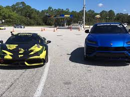The suv weighs 5,225 pounds, making it over 300 pounds heavier than the urus. Lamborghini Urus Faces Off Against Tuned Ferrari 458 Speciale