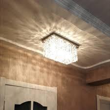 hallway ceiling lighting. led lamp ceiling modern lights hallway crystal rectangle lighting