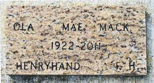 Ola Mae Mack (1922-2011) - Find A Grave Memorial