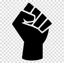 Fist Transparent Background Raised Fist Black Power Black Panther Party Symbol Symbol