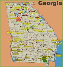 georgia state maps  usa  maps of georgia (ga)