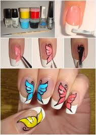 diy erfly nail art tutorials here are some step by
